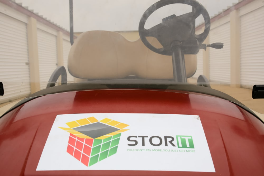 Come see us in the office at Stor It Self Storage