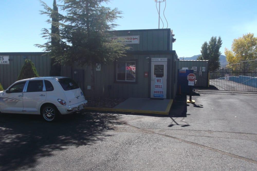 Entrance to Prescott Valley RV & Self Storage