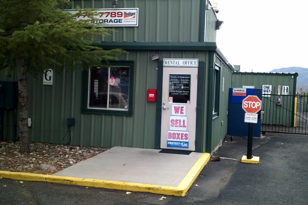 Prescott Valley RV & Self Storage front door