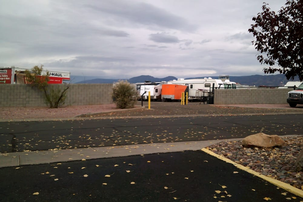 Prescott Valley RV & Self Storage RV parking