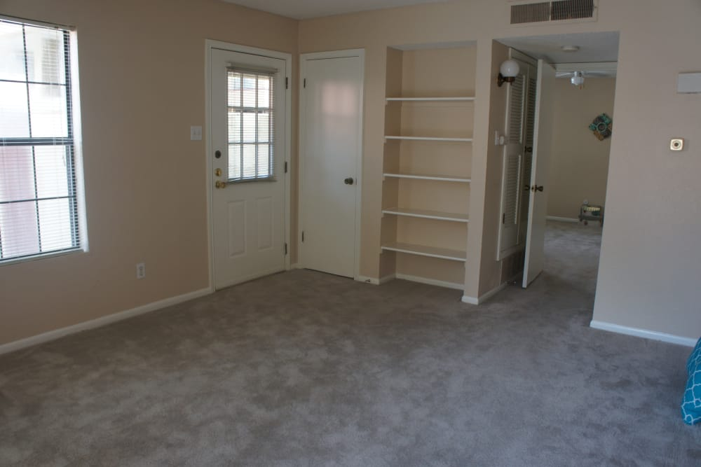 Ample living space at Pear Tree apartments
