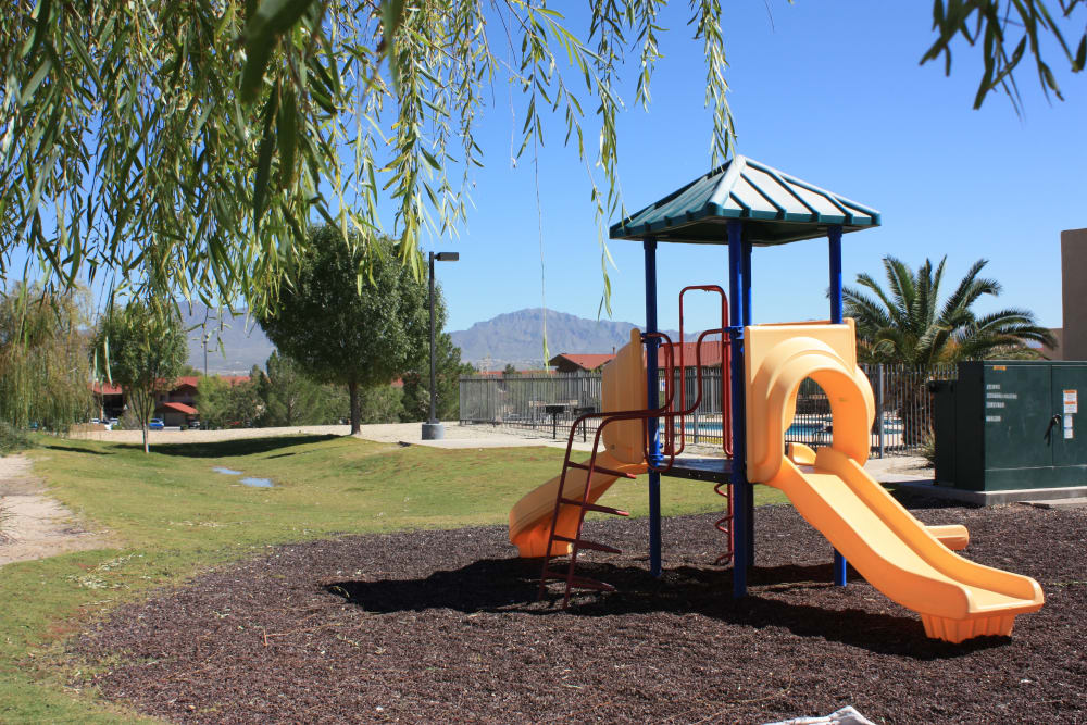 Beautiful playground at Santa Teresa Terrace Apartments in Santa Teresa, NM
