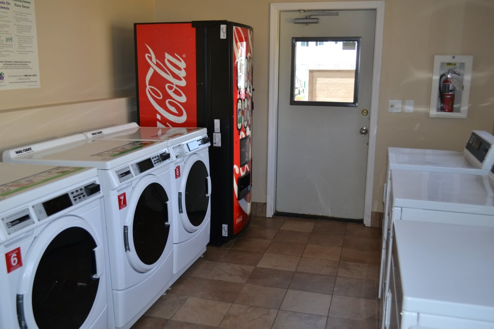 Pier Park laundry facility