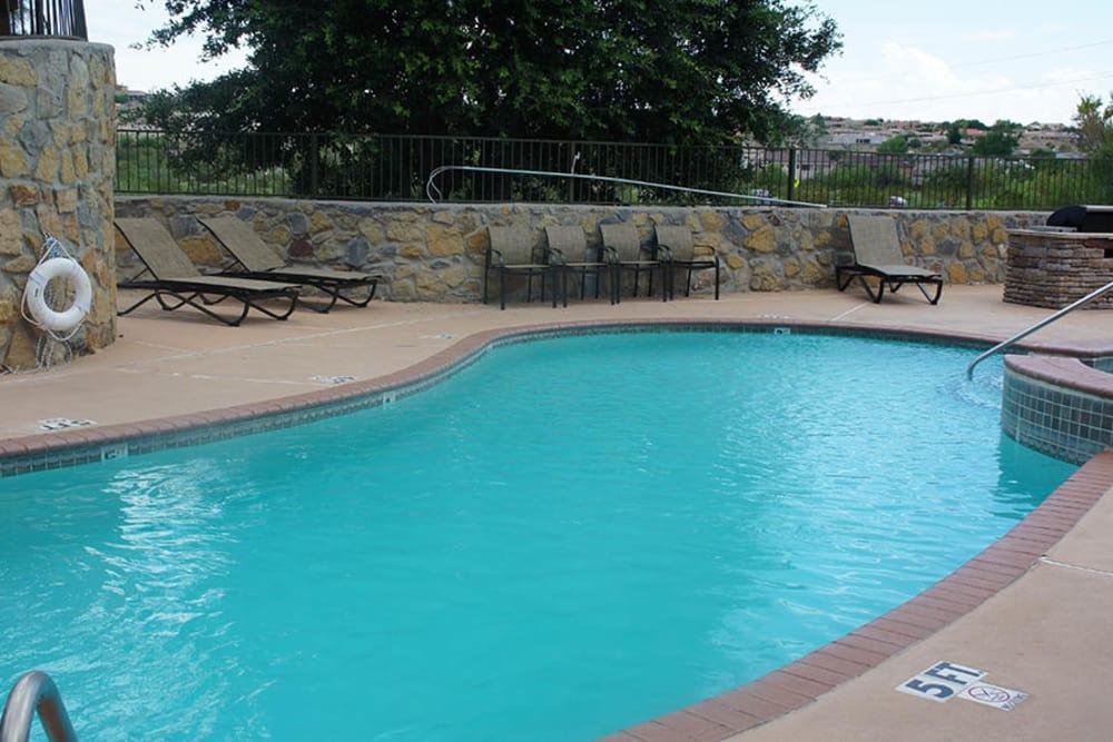 Refreshing pool at Cuestas Apartments