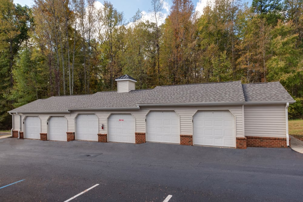 Storage units at Forest Oaks Apartment Homes