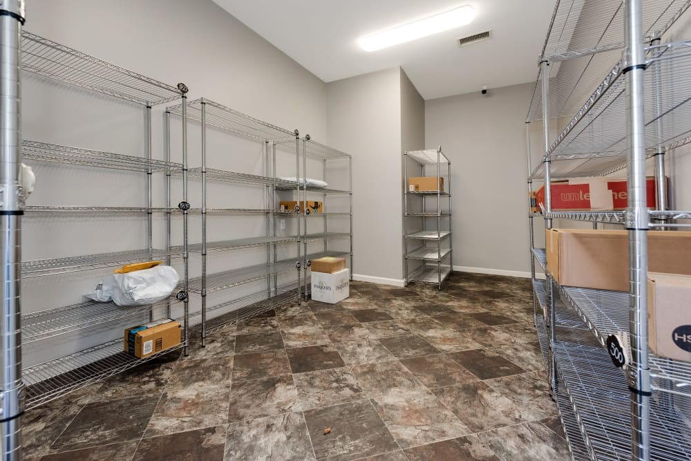 Storage area at Forest Oaks Apartment Homes