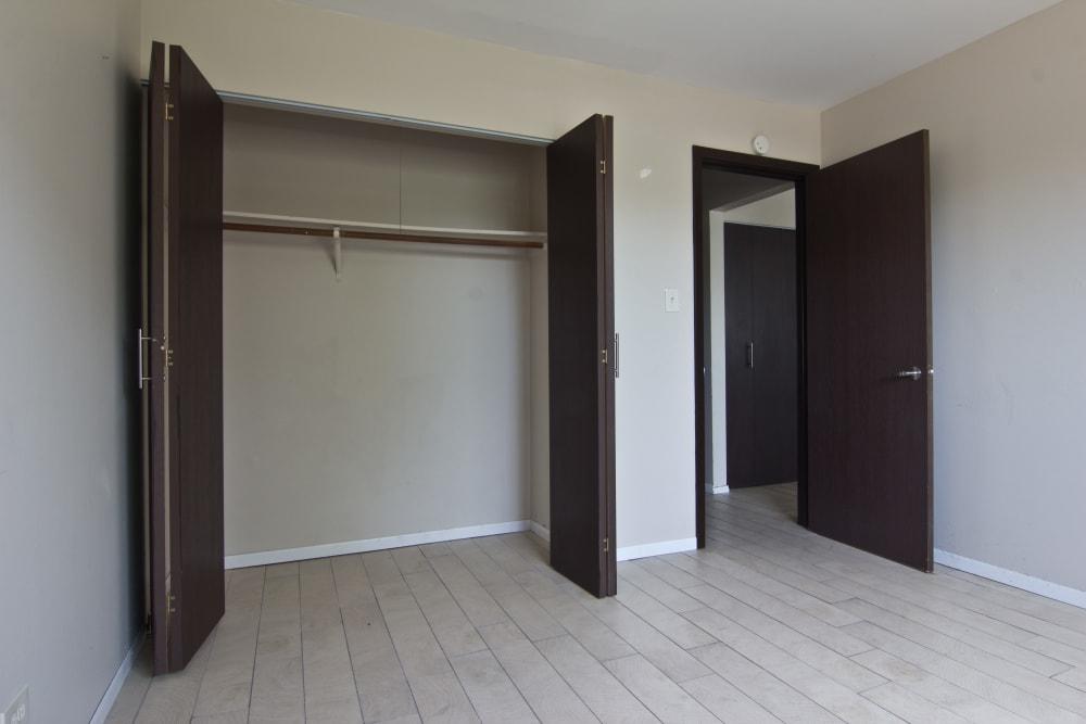 Inviting bedroom at The Flats at Gladstone