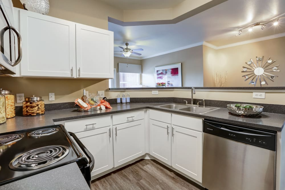 Our apartments in Colorado Springs, Colorado showcase a luxury kitchen