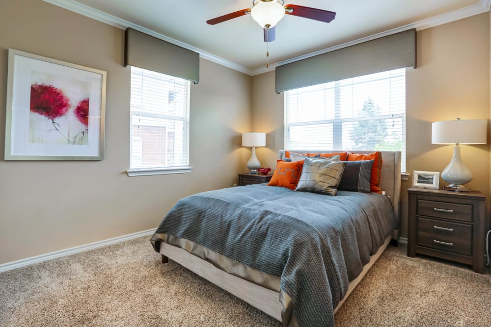 Our apartments in Colorado Springs, Colorado have a state-of-the-art bedroom