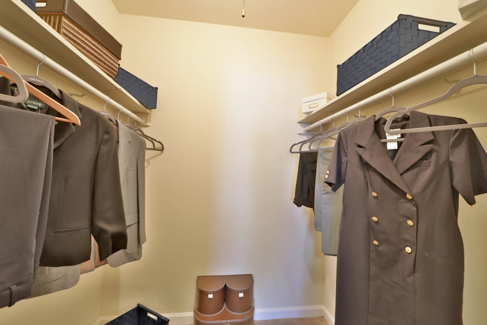 Parke Laurel Apartment Homes in Laurel, MD offers apartments with walk-in closets