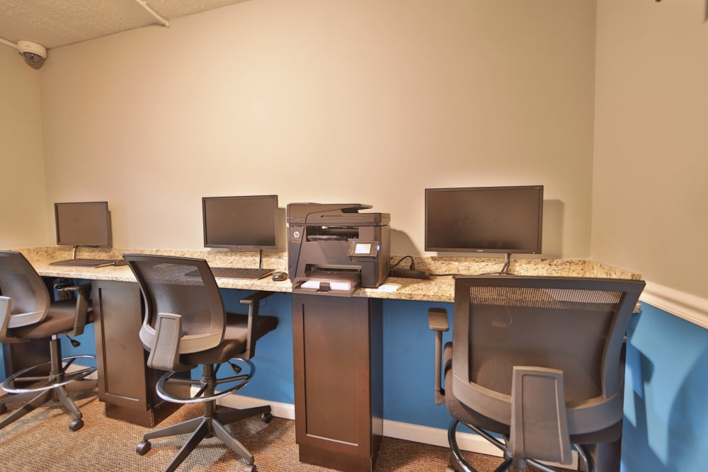 Our apartments in Laurel, MD offer a business center