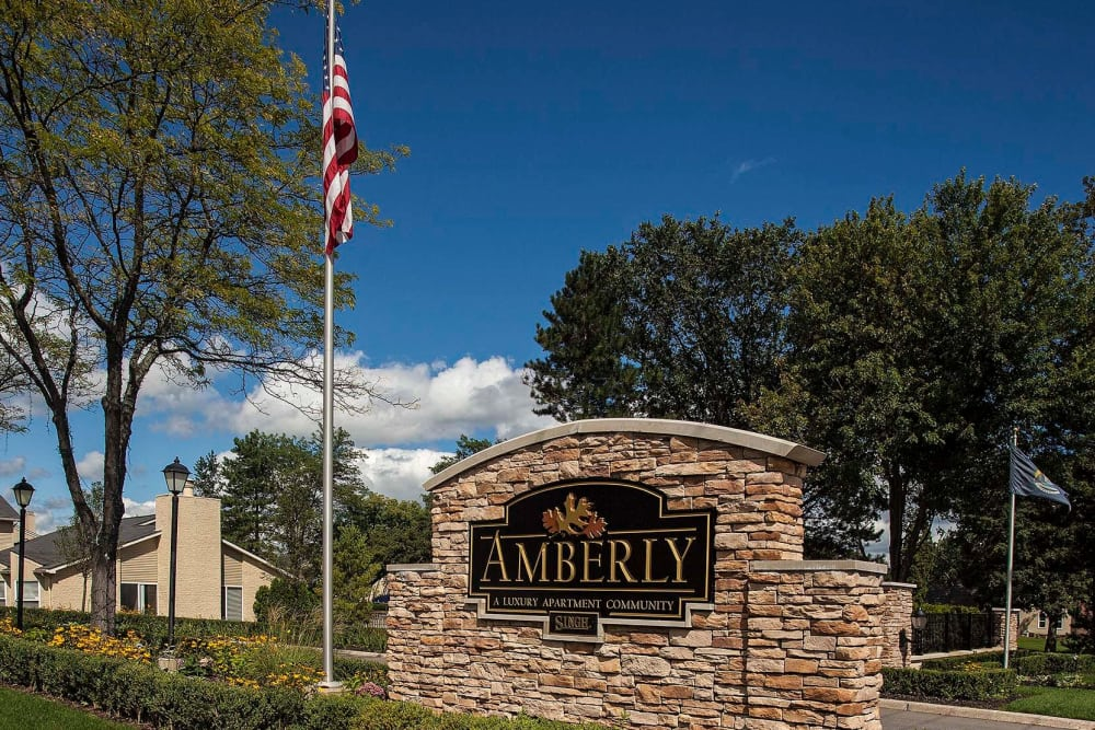 Amberly signage in West Bloomfield
