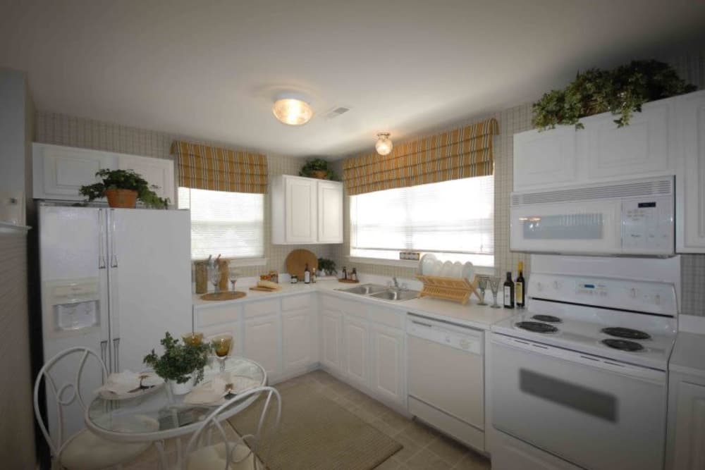 Enjoy a spacious kitchen at Briarcliff Village apartments