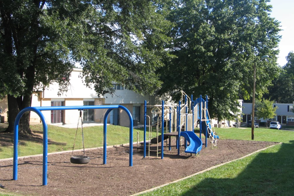 A playground that is great for entertaining at Fontana Village in Rosedale, MD