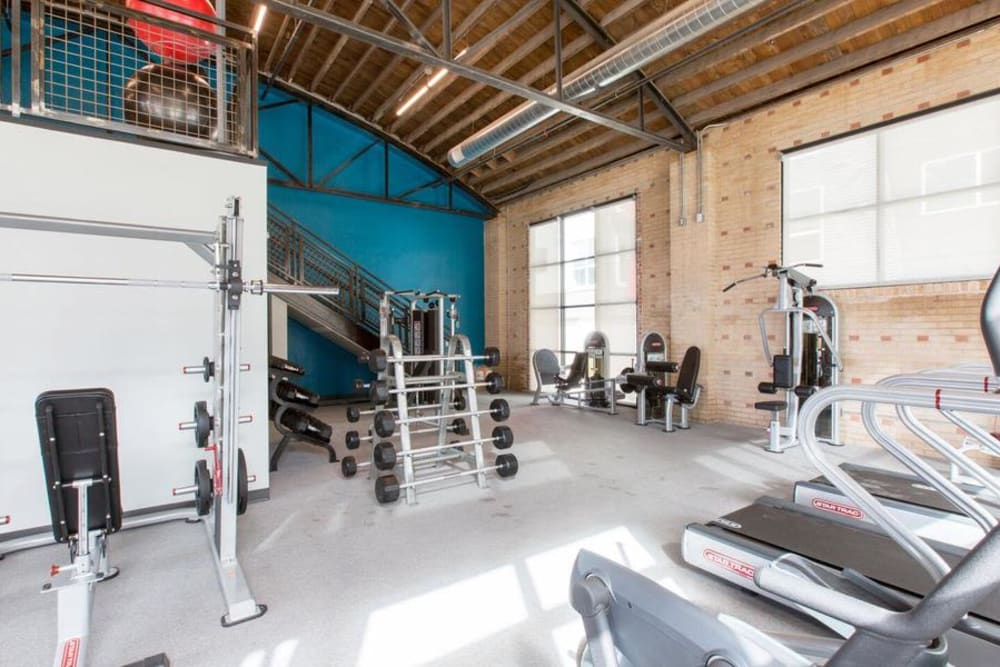Our Apartments in Englewood, Colorado offer a Fitness Center