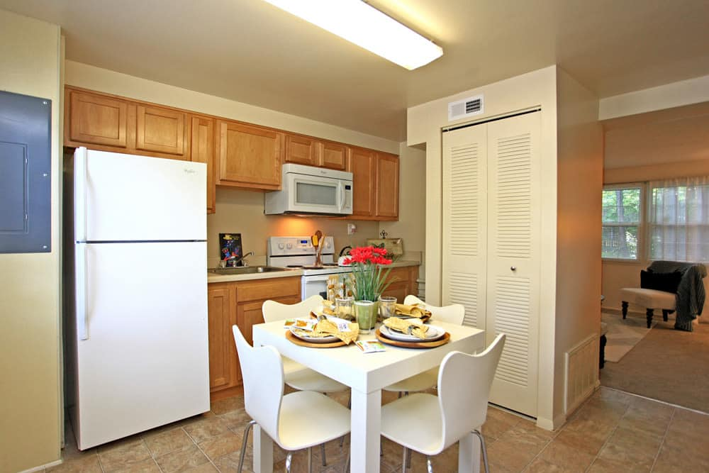 Beautiful kitchen at Cove Village in Essex, MD