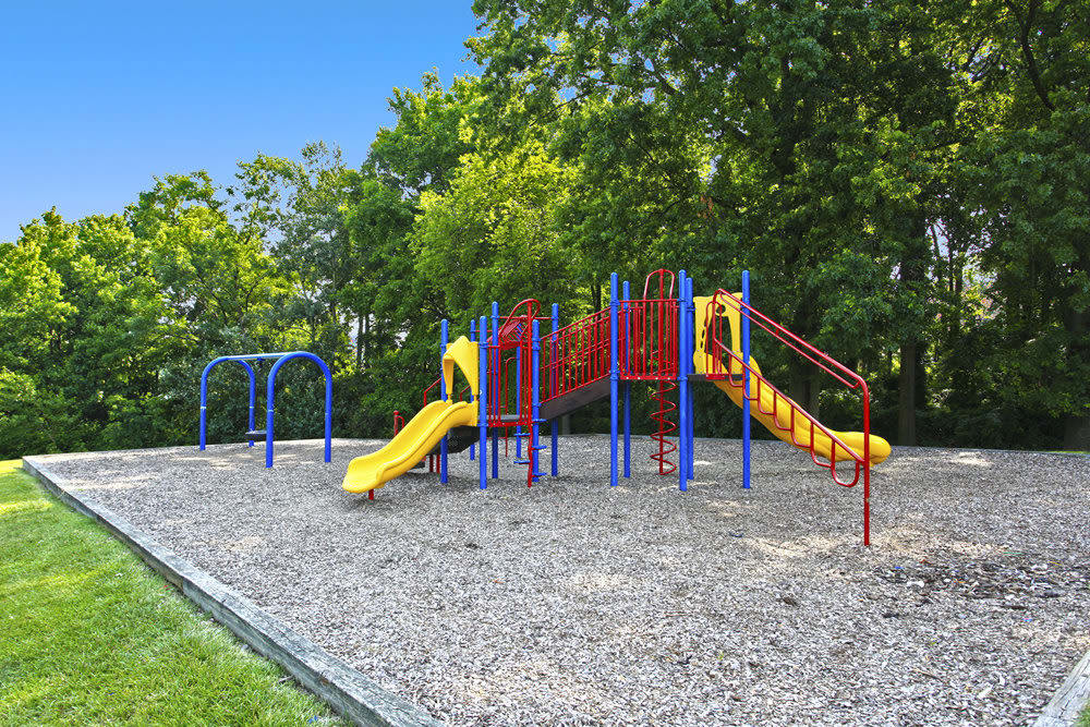 A playground that is great for entertaining at Cove Village in Essex, MD