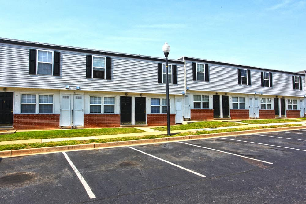 Plenty of parking at our apartments at Cove Village in Essex, MD
