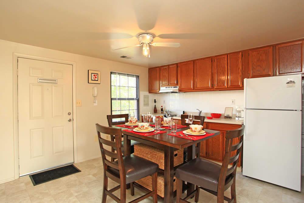 Beautiful kitchen at Dutch Village in Baltimore, MD