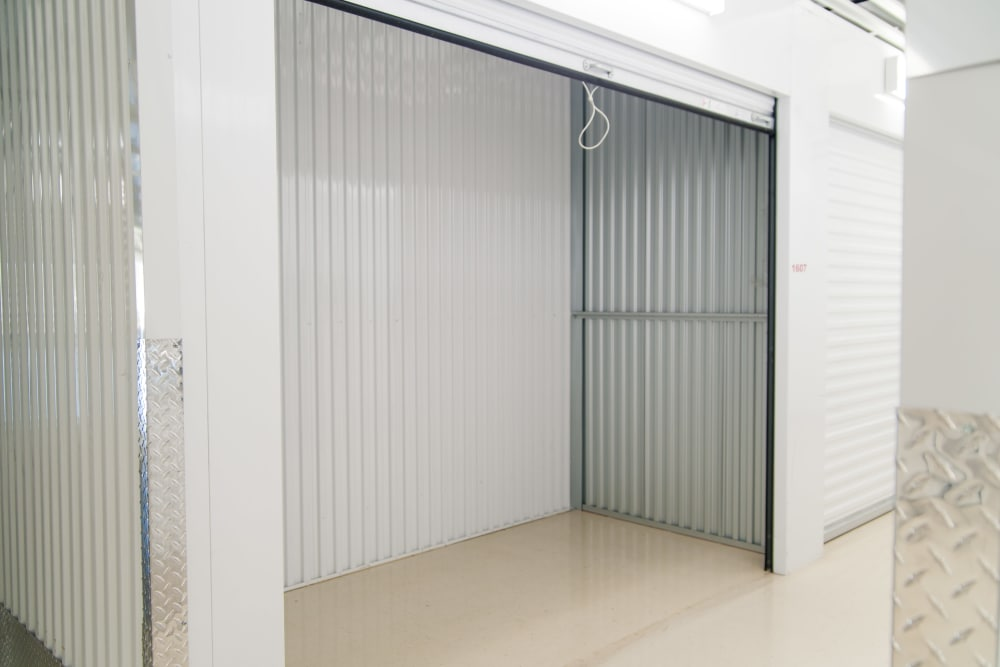 Another view inside of a storage unit at 1-800-SELF-STORAGE.com in Troy, Michigan