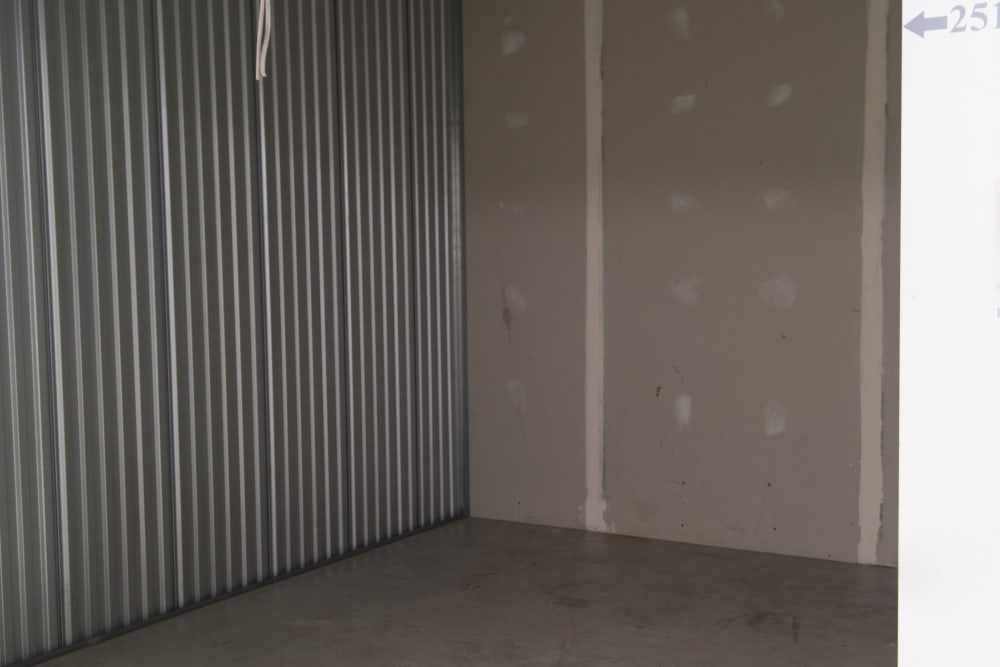 Inside of a storage unit at 1-800-SELF-STORAGE.com in Oak Park, Michigan