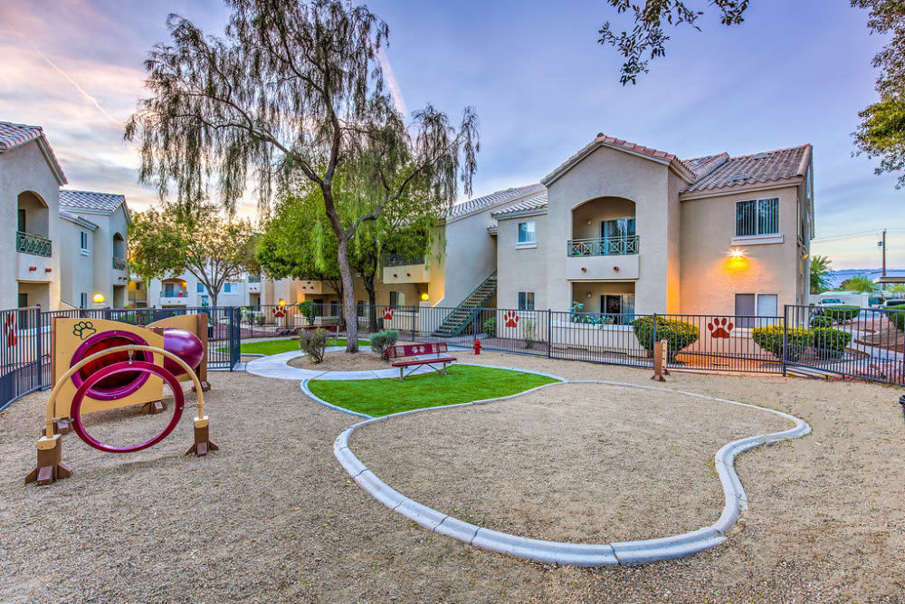 An on-site playground is great for children living at Avion at Sunrise Mountain