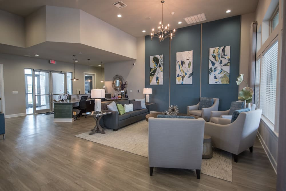 Interior Clubhouse at Springs at Kenosha in Springs at Kenosha Apartments