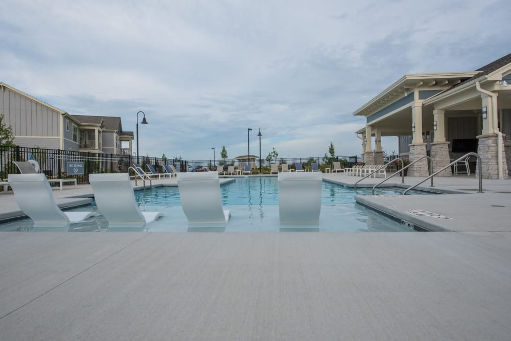 Pool At Springs at Kenosha In Springs at Kenosha Apartments