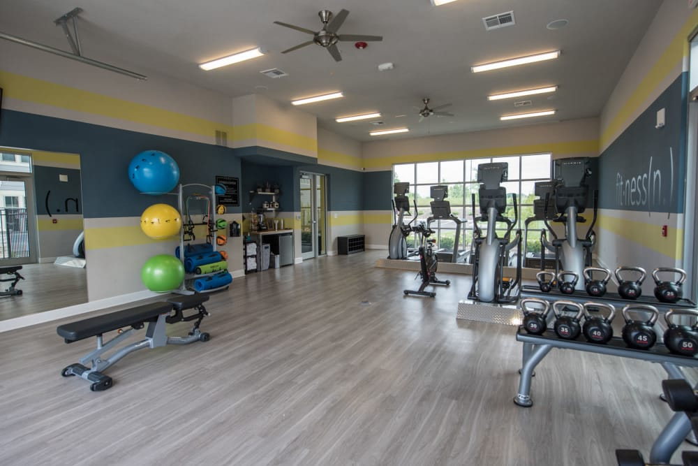 Fitness Center At Springs at Kenosha In Springs at Kenosha Apartments