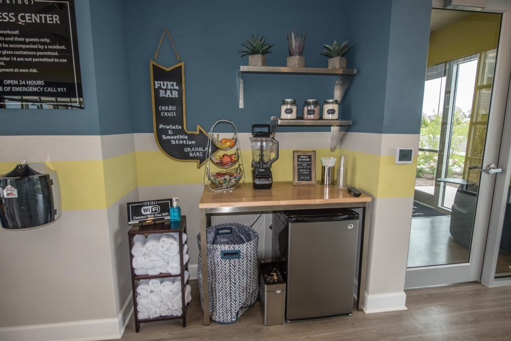 Smoothie Station At Springs at Kenosha In Springs at Kenosha Apartments