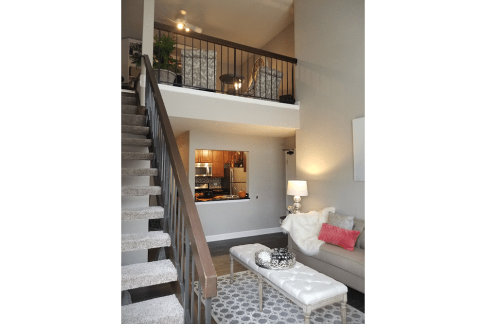 Living Room at Fox Valley Villages