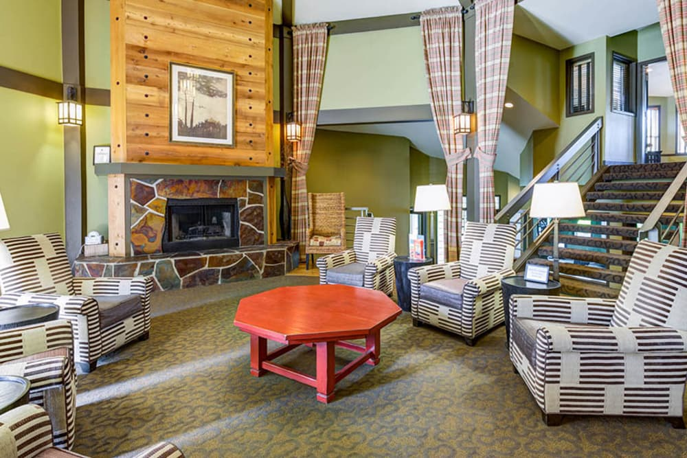 Community clubhouse at Walden Pond Apartments in Everett, Washington