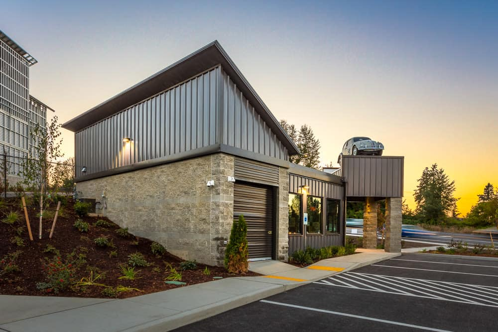 A self storage facility offering high tech security features in Auburn, WA.