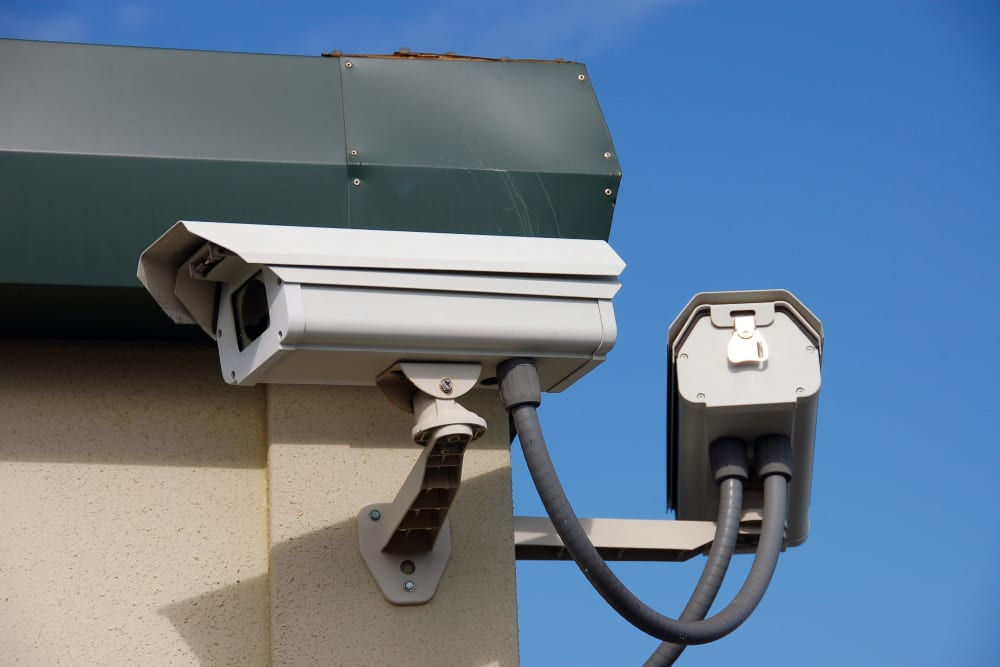 Security camera at Advantage Self Storage