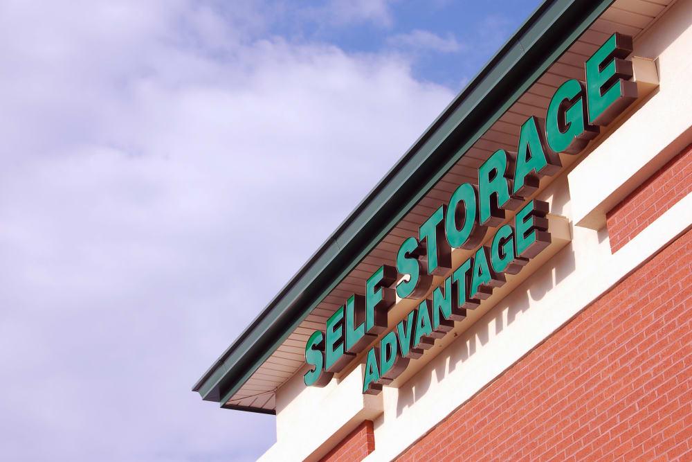 The Advantage Self Storage facility in Indian Trail, North Carolina