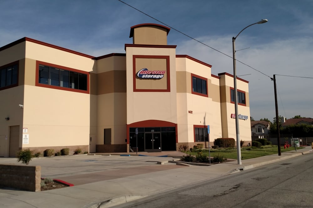 One Stop Storage is ideally located in sunny Covina, California.