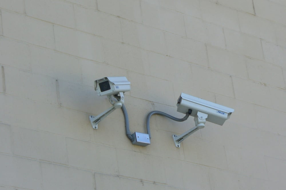 You're being watched by security cameras at One Stop Storage