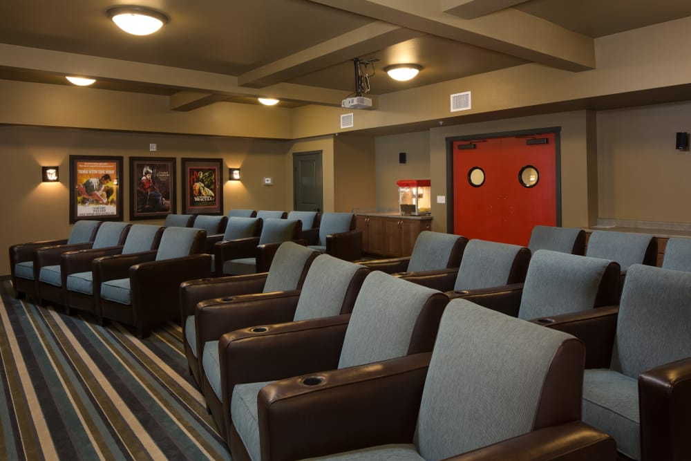 Movie theater at Affinity at Colorado Springs
