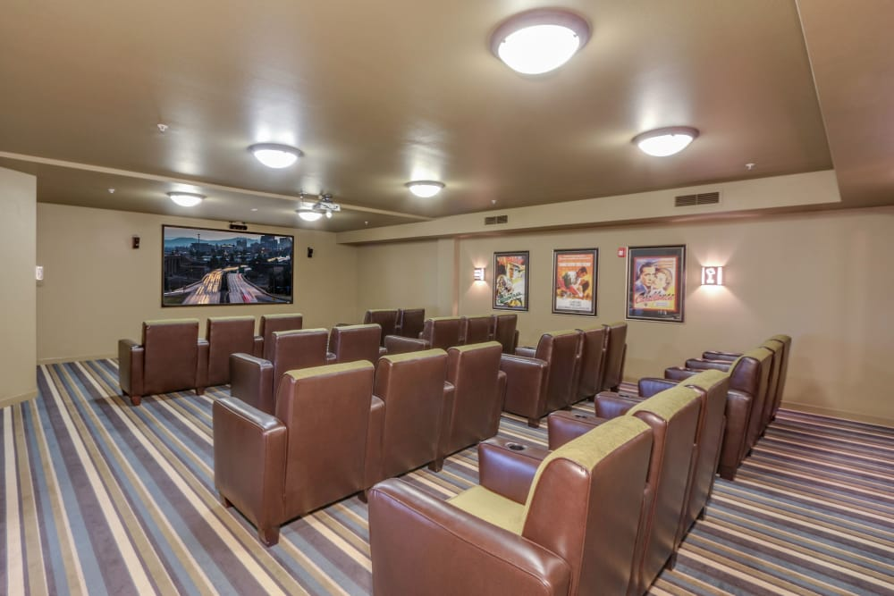 Our movie theater at Affinity at Southridge in Kennewick, WA