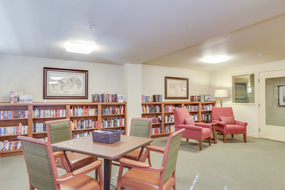 Library at Affinity at Southridge in Kennewick, WA