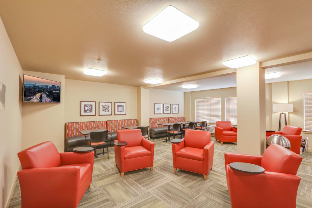 Relax in our lounge at Affinity at Southridge in Kennewick, WA