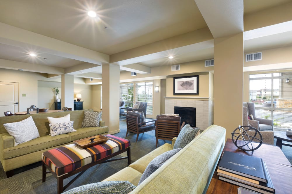 Resident lounge at Affinity at Round Rock