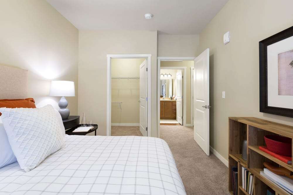 Bedroom at Affinity at Round Rock