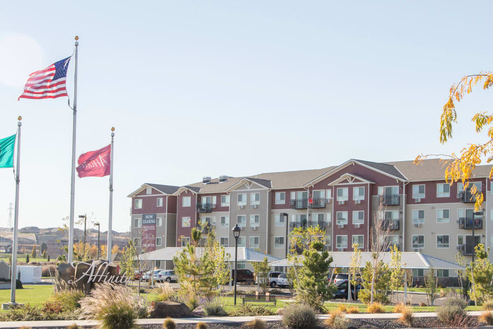 Our apartments at Affinity at Southridge in Kennewick, WA
