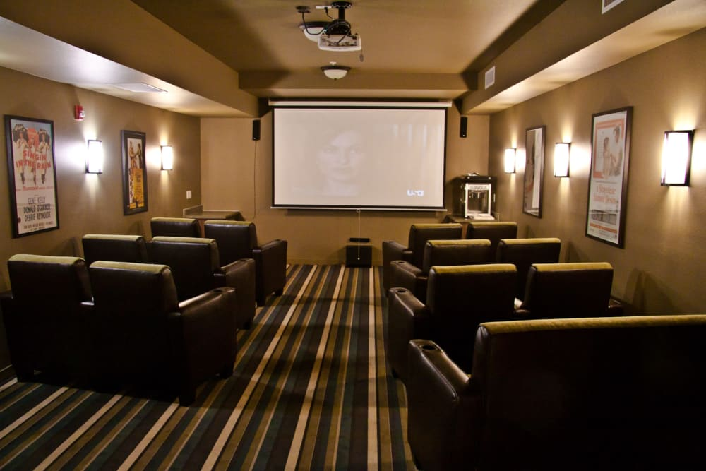 Movie theater that is great for entertaining at Affinity At Walla Walla in Washington