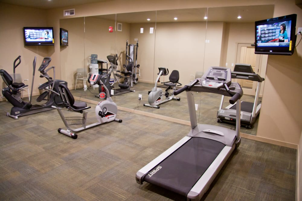 Enjoy our fitness center at Affinity At Walla Walla in WA