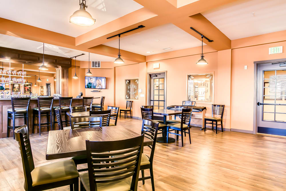 On-site pub at Affinity at Albuquerque