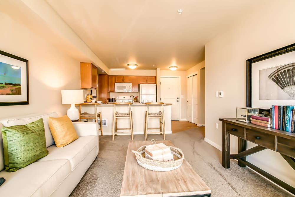 Open floor plan design at Affinity at Albuquerque