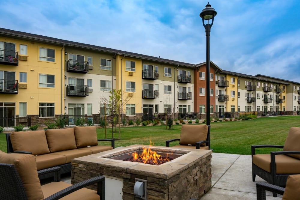 Affinity at Loveland fire pit for residents