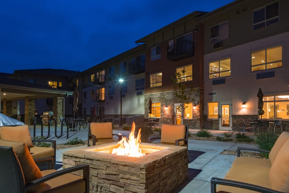 Affinity at Loveland fire pit